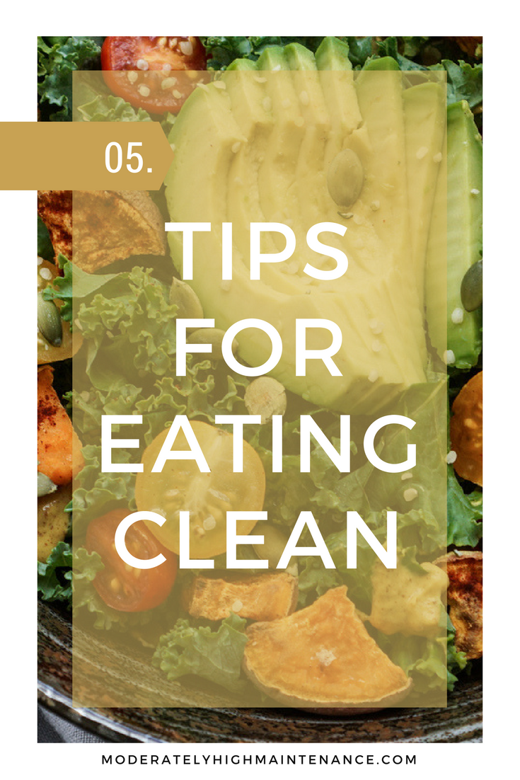 Making the transition to clean eating will be so much easier when you have people to hold you accountable. Here are 5 tips for clean eating!