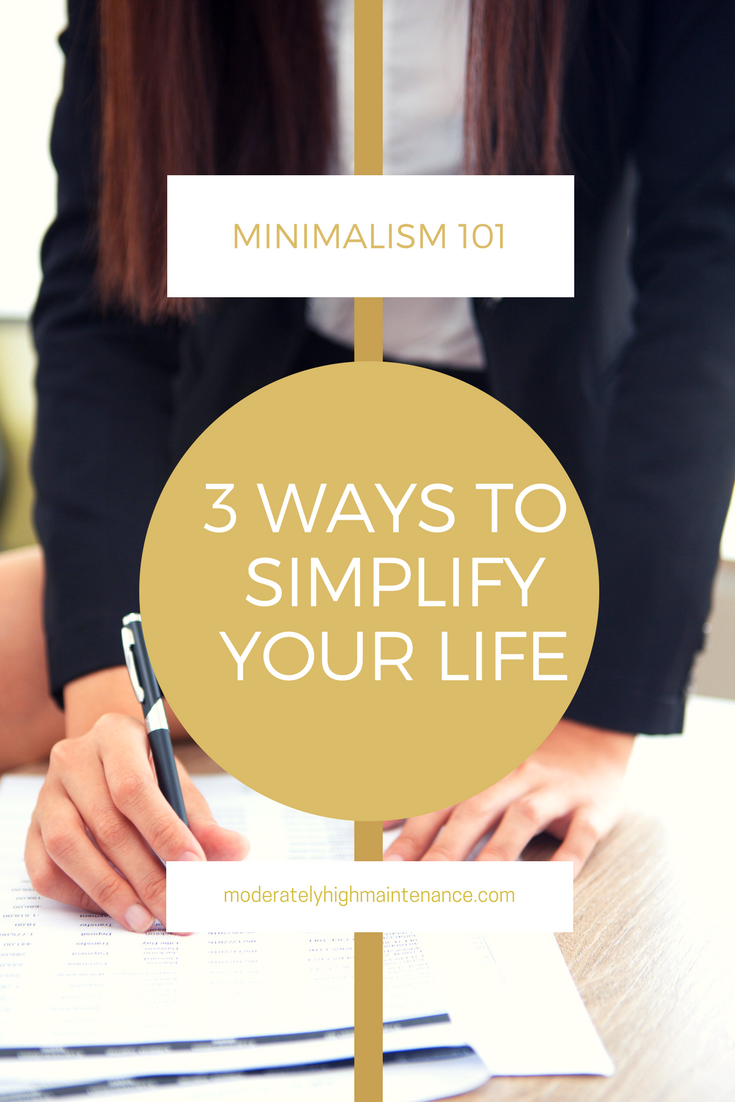 Here are three ways to simplify your life so that you can spend more time enjoying the important things in life that the people you love!