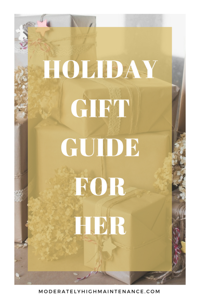 Ladies, this gift guide is for you! Here are some of my all-time favorite things that should definitely be on your list!