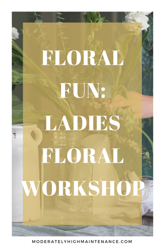 This weekend a few of my girlfriends and I got together for a floral workshop! I highly recommend hosting some floral fun with your friends because a few hours with flowers and friendship just does the heart good! Check out our Floral Workshop below! #CraftYourCool #CollectiveBias #Ad
