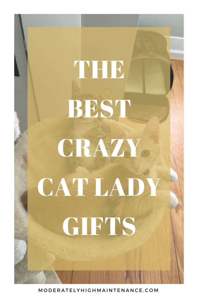 I love good cat paraphernalia as much as the next person so I have compiled our list of crazy cat lady gifts for the feline lover in your life!
