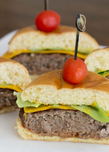Tailgating is the time to break our your yummiest recipes. I am sharing one of my favorite recipes it is my Touchdown Burger.