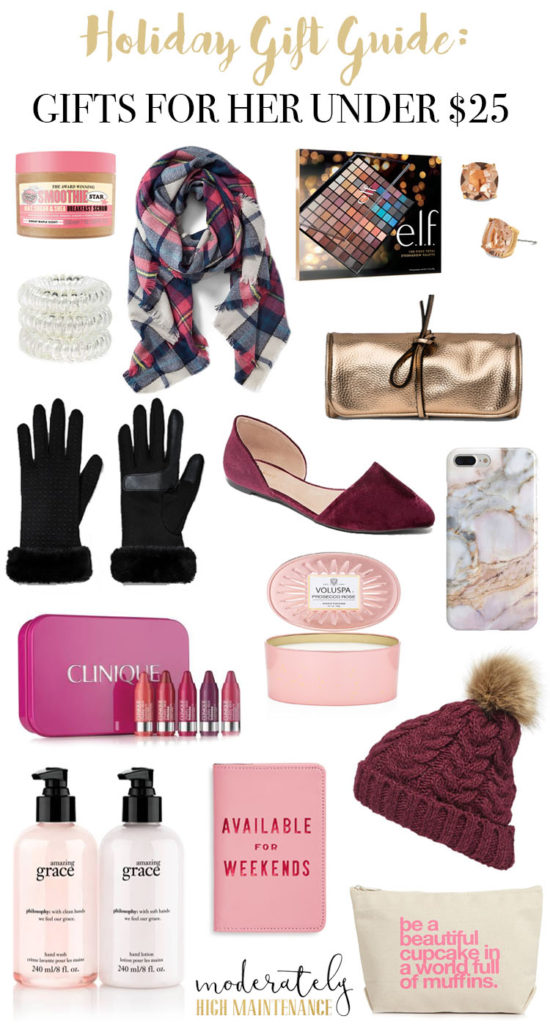 Gifts For Women Under 25 Moderately High Maintenance