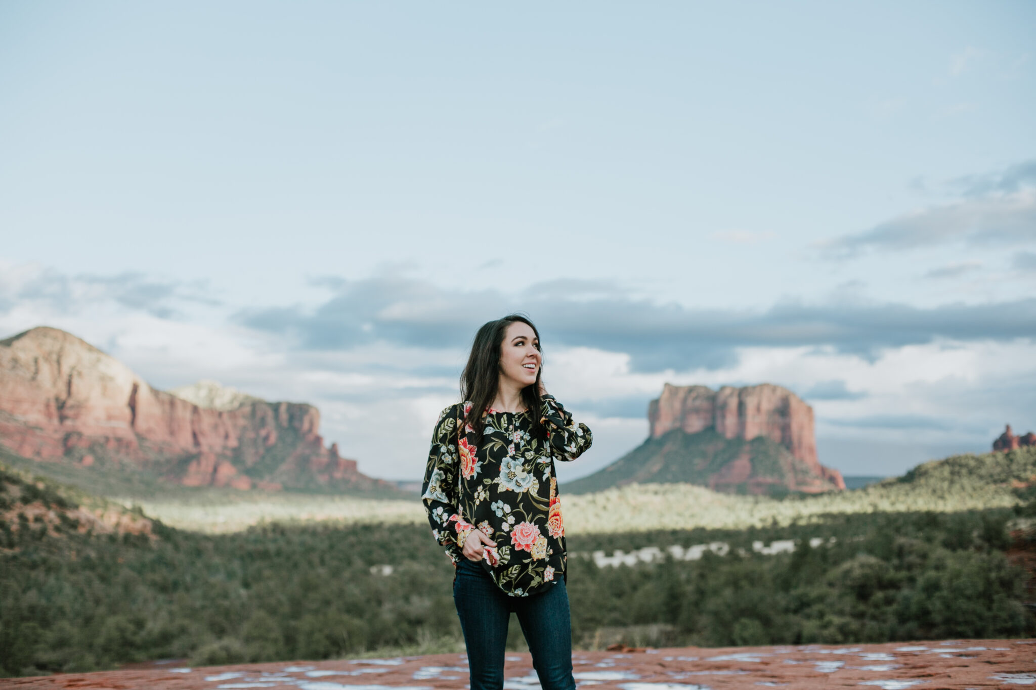 Sedona, Arizona is one of the most breathtaking places I have ever seen. It was perfect for a weekend getaway because of the great views and relaxing vibe.