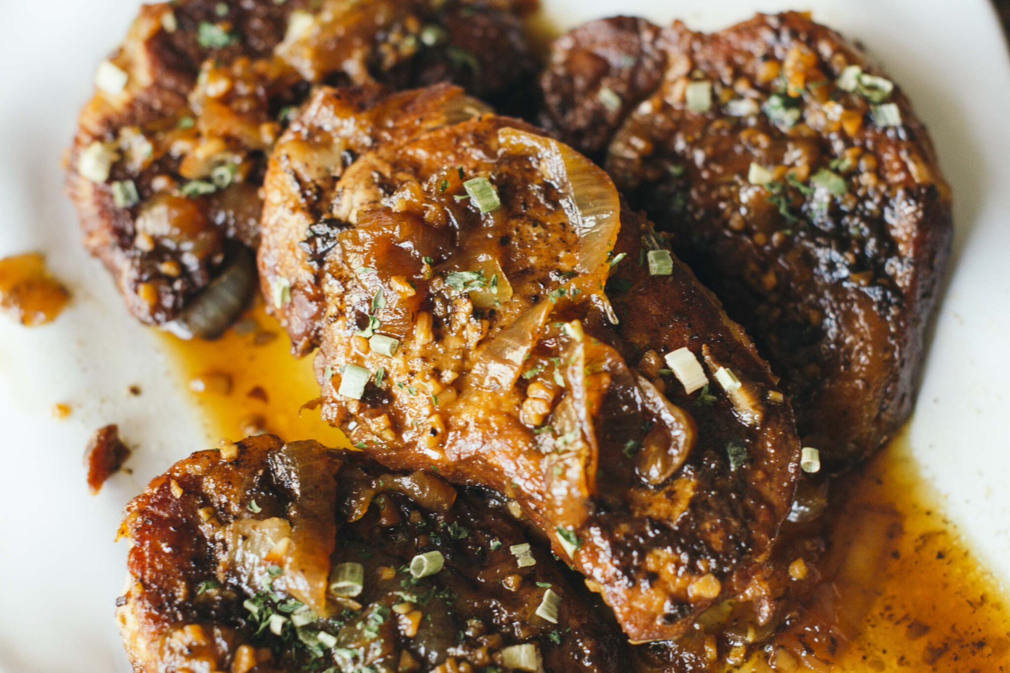 Instapot Honey Balsamic Paleo Pork Chops add intrigue to your routine while still being ready in under 30 minutes.
