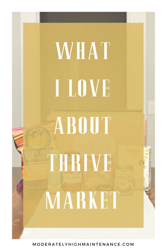 When I discovered Thrive Market I was in foodie heaven.  Here is what I love Thrive Market!